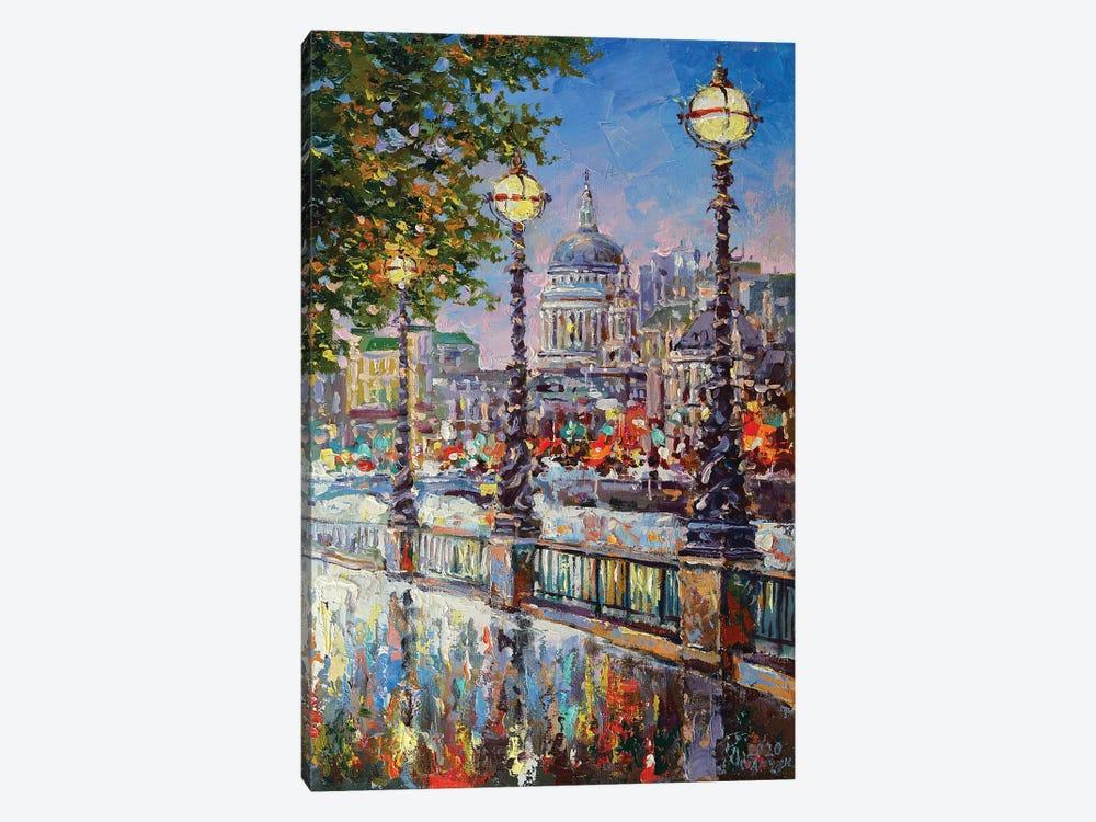 London VI by Andrej Ostapchuk 1-piece Canvas Art Print