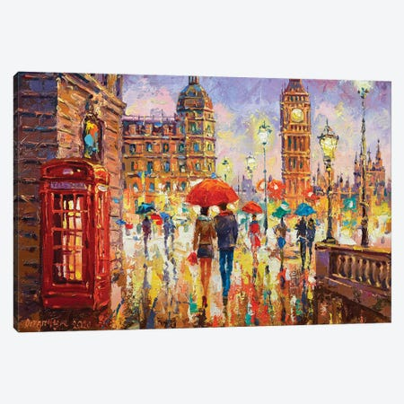 London IV Canvas Print #AOS15} by Andrej Ostapchuk Canvas Artwork