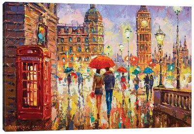 London IV Canvas Art Print