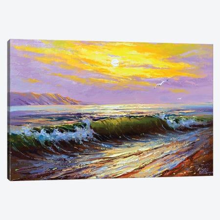 Seascape I Canvas Print #AOS16} by Andrej Ostapchuk Canvas Wall Art