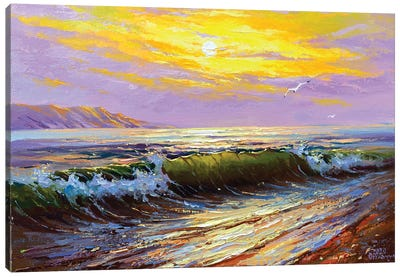 Seascape I Canvas Art Print
