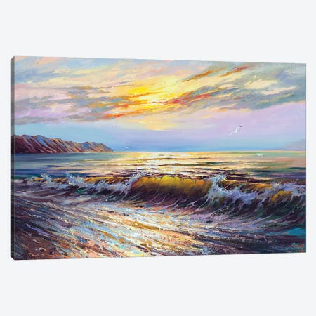 Seascape VIII Canvas Print #AOS17} by Andrej Ostapchuk Canvas Art