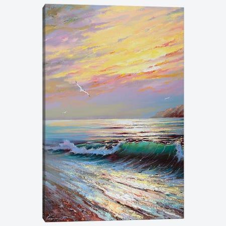 Seascape XII Canvas Print #AOS18} by Andrej Ostapchuk Art Print