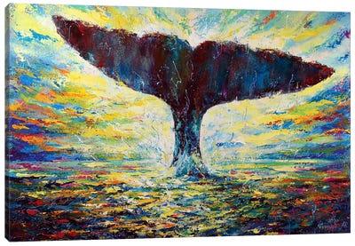 The Energy Of Life Canvas Art Print