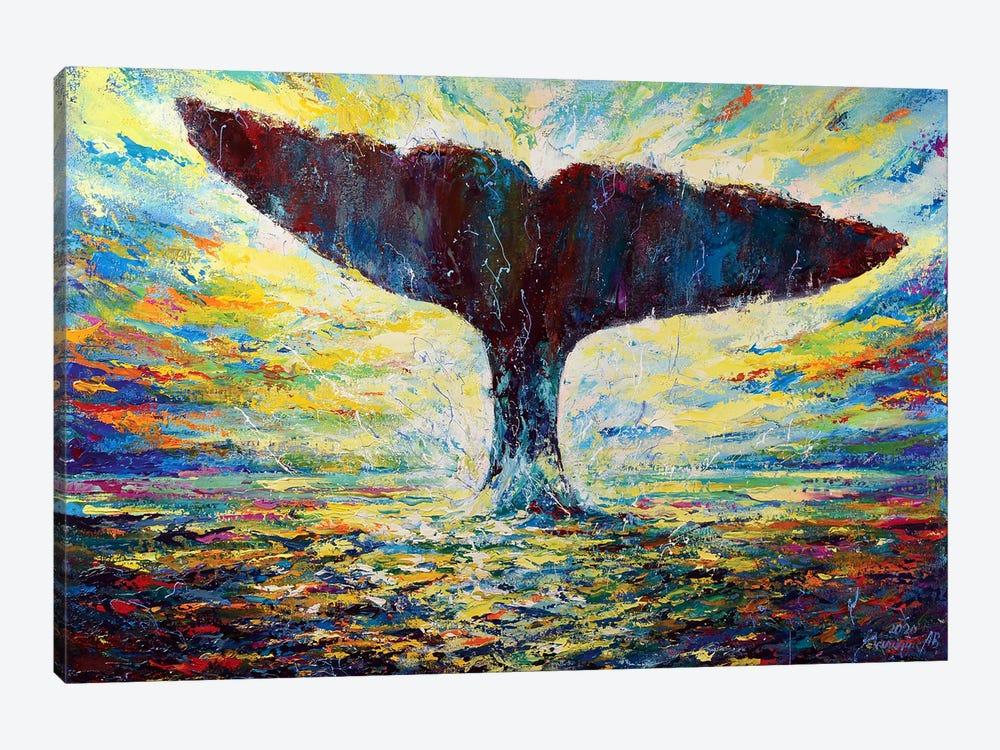 The Energy Of Life by Andrej Ostapchuk 1-piece Canvas Wall Art