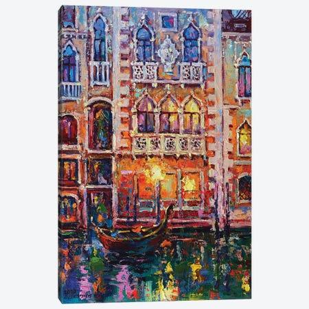 Venice Canvas Print #AOS21} by Andrej Ostapchuk Canvas Artwork