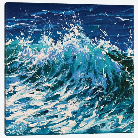 Wave Canvas Print #AOS22} by Andrej Ostapchuk Canvas Art