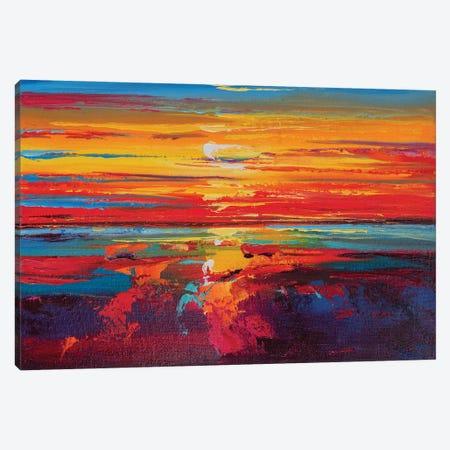 Abstract Seascape XII Canvas Print #AOS23} by Andrej Ostapchuk Canvas Art
