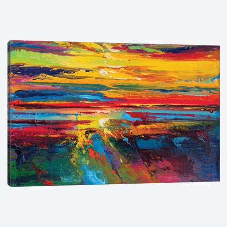 Abstract Seascape XV Canvas Print #AOS24} by Andrej Ostapchuk Canvas Print