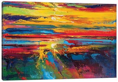 Abstract Seascape XV Canvas Art Print