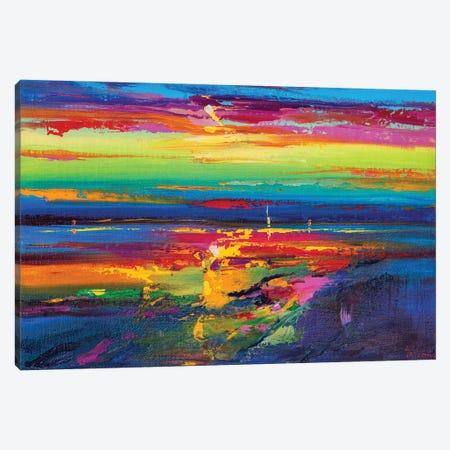 Abstract Seascape XIX Canvas Print #AOS25} by Andrej Ostapchuk Art Print