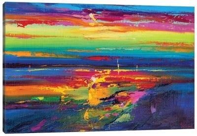 Abstract Seascape XIX Canvas Art Print
