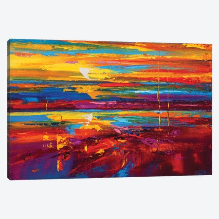 Abstract Seascape XVIII Canvas Print #AOS26} by Andrej Ostapchuk Canvas Print