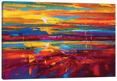 Abstract Seascape XVIII Canvas Art Print