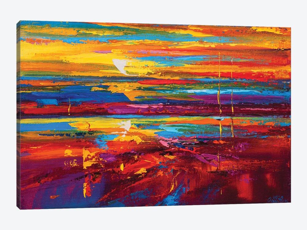 Abstract Seascape XVIII by Andrej Ostapchuk 1-piece Canvas Art