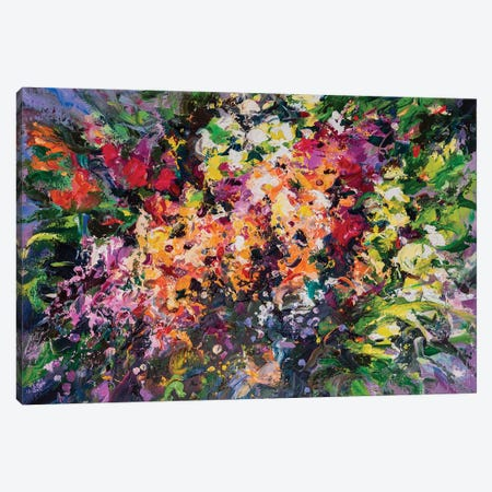 Bouquet I Canvas Print #AOS28} by Andrej Ostapchuk Canvas Art