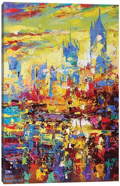 Abstract Cityscape IV Canvas Art Print