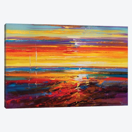 Abstract Seascape X Canvas Print #AOS30} by Andrej Ostapchuk Canvas Art Print