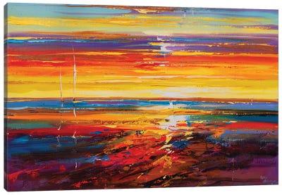 Abstract Seascape X Canvas Art Print