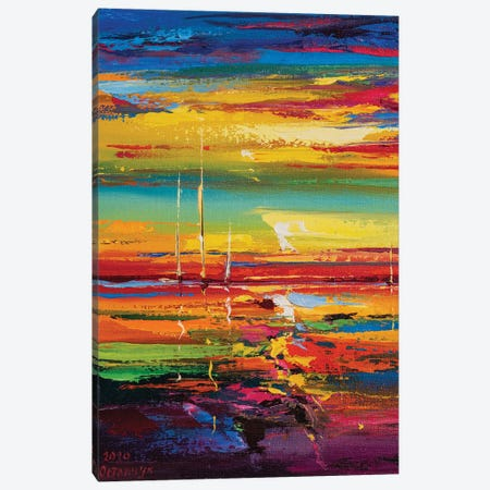 Abstract Seascape XIV Canvas Print #AOS31} by Andrej Ostapchuk Art Print