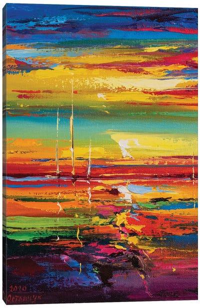 Abstract Seascape XIV Canvas Art Print