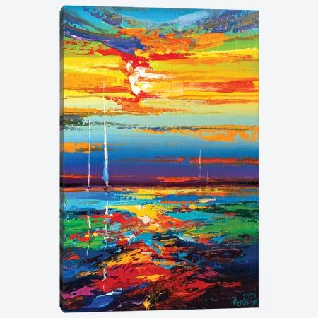 Abstract Seascape XVIII Canvas Print #AOS32} by Andrej Ostapchuk Canvas Print