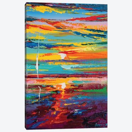 Abstract Seascape XVIII Canvas Print #AOS33} by Andrej Ostapchuk Art Print