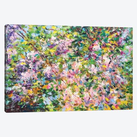 Abstract Composition (spring) Canvas Print #AOS3} by Andrej Ostapchuk Canvas Art Print