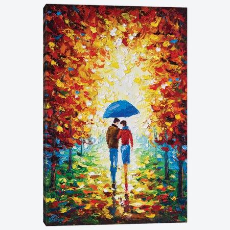 Walk Together I Canvas Print #AOS43} by Andrej Ostapchuk Canvas Artwork