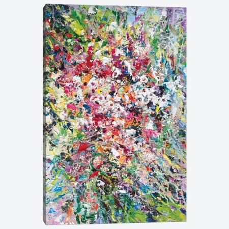 Abstract Bouquet I Canvas Print #AOS45} by Andrej Ostapchuk Canvas Print