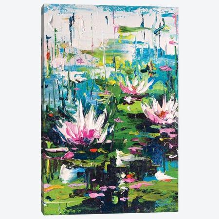 Water Lilies III Canvas Print #AOS47} by Andrej Ostapchuk Canvas Art Print