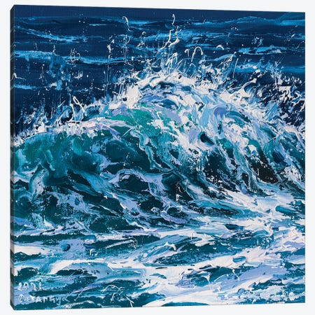 Wave III Canvas Print #AOS51} by Andrej Ostapchuk Canvas Art Print
