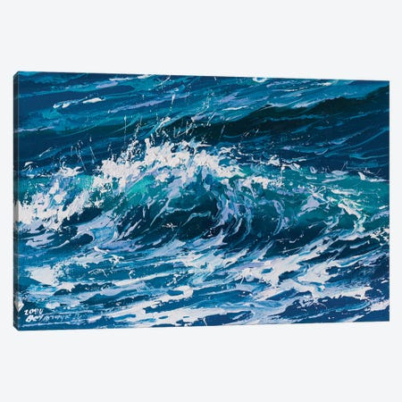 Wave V Canvas Print #AOS52} by Andrej Ostapchuk Canvas Print