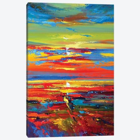Abstract Seascape IV Canvas Print #AOS6} by Andrej Ostapchuk Canvas Wall Art