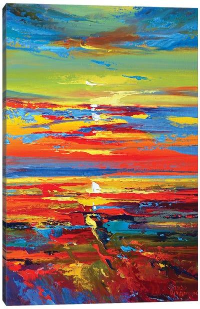 Abstract Seascape IV Canvas Art Print