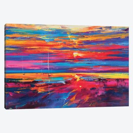 Abstract Seascape V Canvas Print #AOS7} by Andrej Ostapchuk Canvas Wall Art