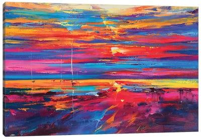 Abstract Seascape V Canvas Art Print