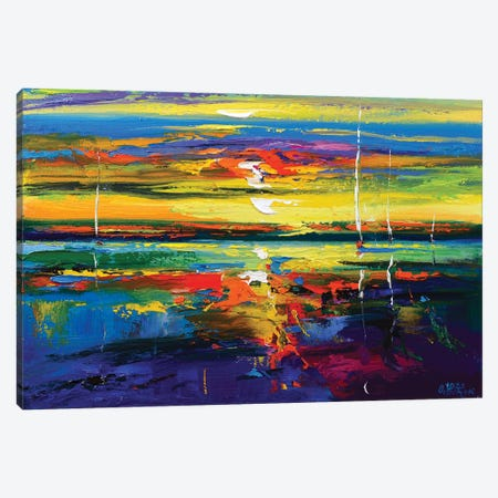 Abstract Seascape VI Canvas Print #AOS8} by Andrej Ostapchuk Canvas Print