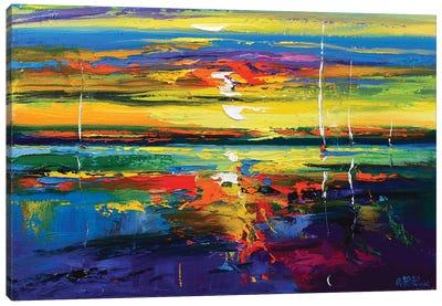 Abstract Seascape VI Canvas Art Print