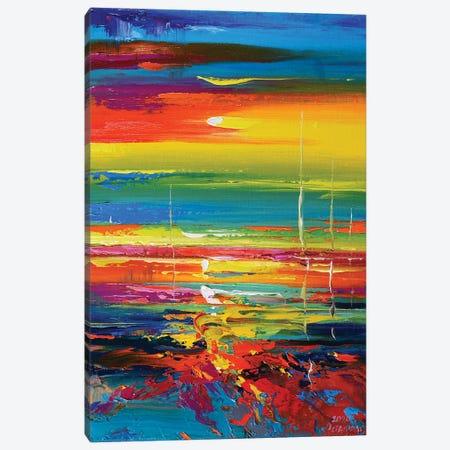 Abstract Seascape VIII Canvas Print #AOS9} by Andrej Ostapchuk Canvas Art Print
