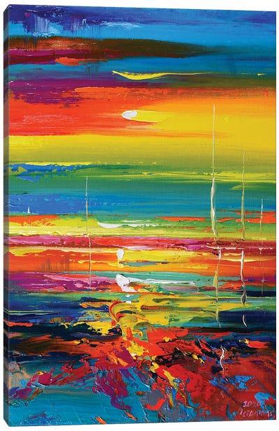 Abstract Seascape VIII Canvas Art Print