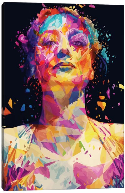Joan Canvas Art Print