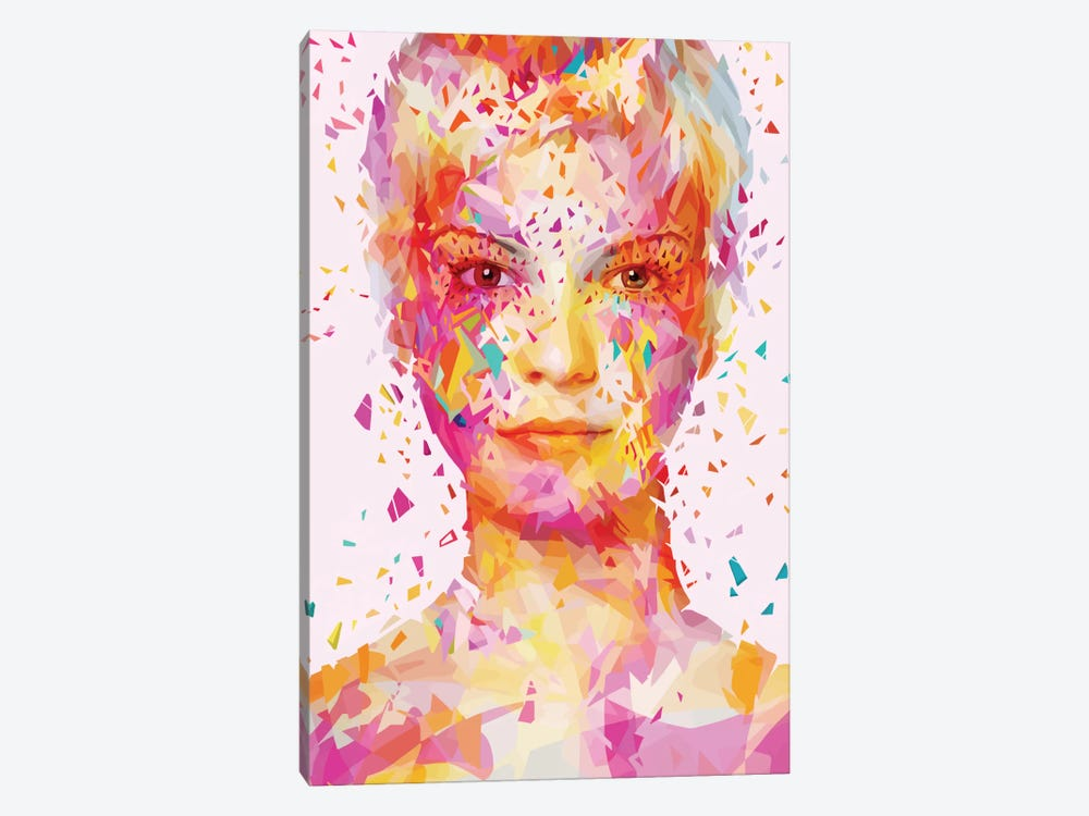 Magenta by Alessandro Pautasso 1-piece Canvas Art