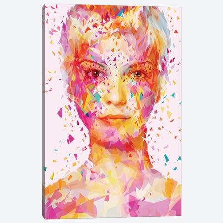 Magenta Canvas Print #APA14} by Alessandro Pautasso Canvas Print