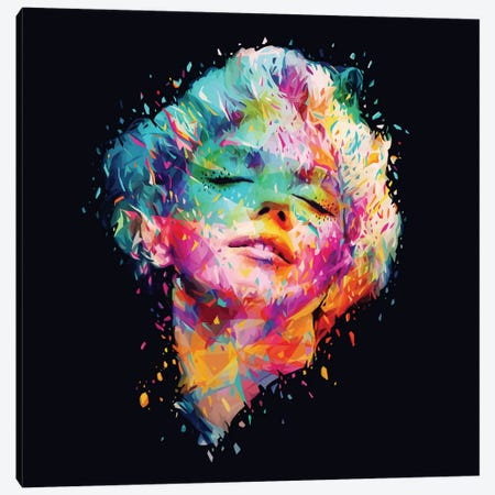 Marilyn Canvas Print #APA15} by Alessandro Pautasso Art Print