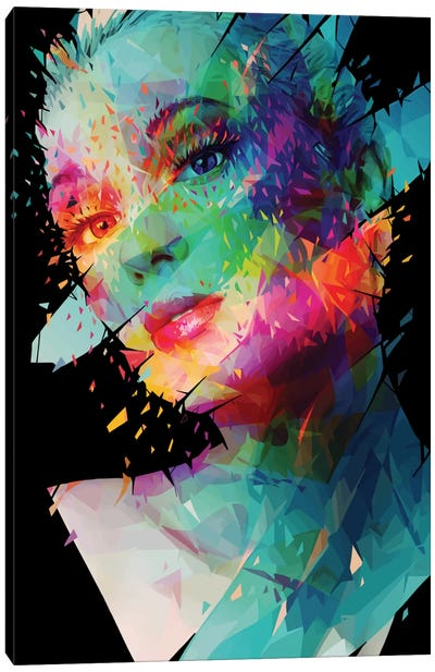 Paint Canvas Art Print