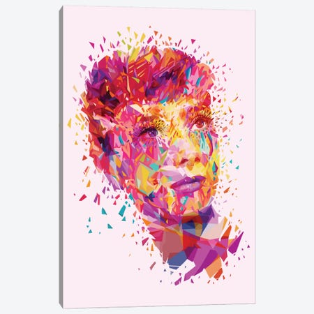 Audrey Canvas Print #APA1} by Alessandro Pautasso Canvas Art Print