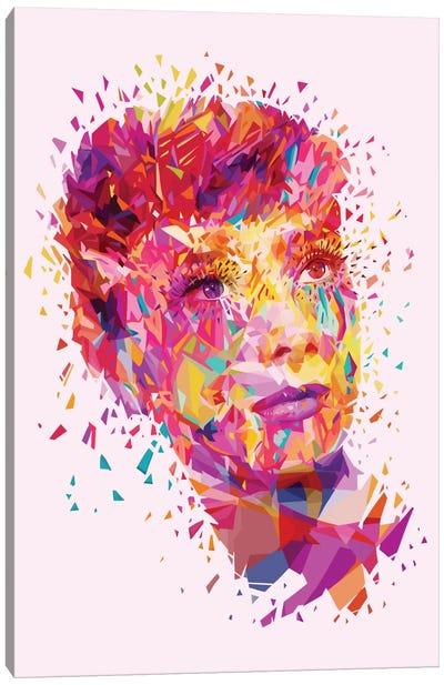 Audrey Canvas Print #APA1