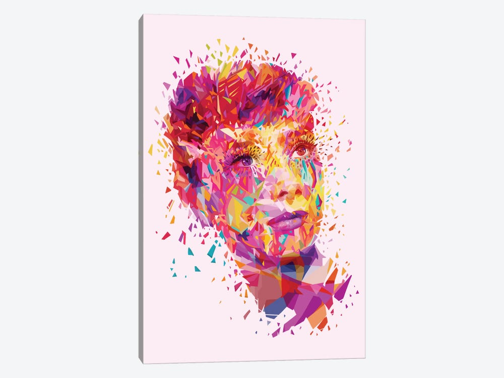 Audrey by Alessandro Pautasso 1-piece Canvas Art