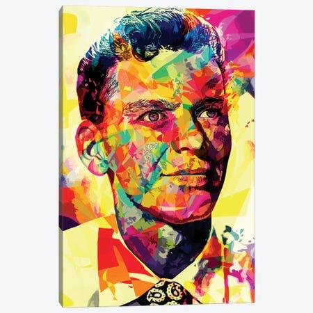 Sinatra Canvas Print #APA22} by Alessandro Pautasso Art Print